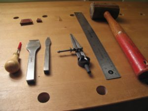 pricking irons other tools