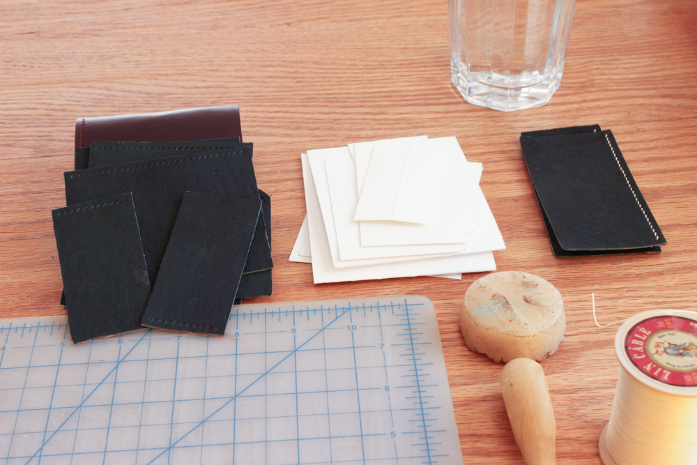 Fine Leatherworking Sewing Setup Project Orgainzation