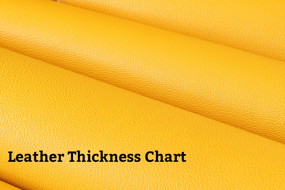 Leather Thickness Conversion Chart