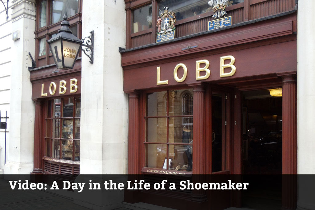 Video: A Day in the Life of a Shoemaker