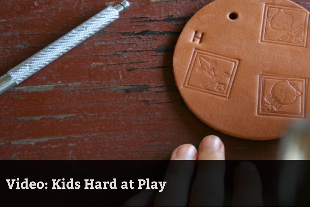 Video: Kids Hard at Play