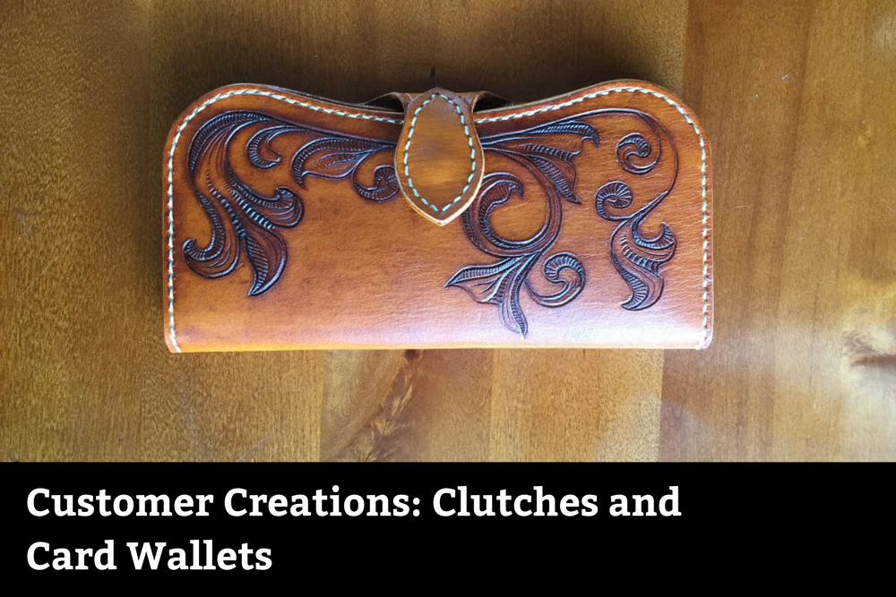 Customer Creations: Clutches and Card Wallets