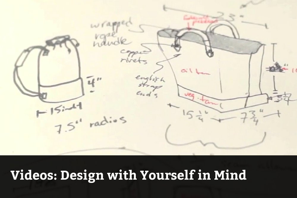 Design With Yourself in Mind