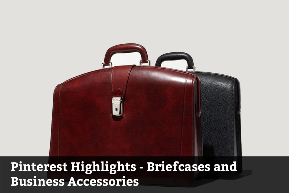 Briefcases and business accessories