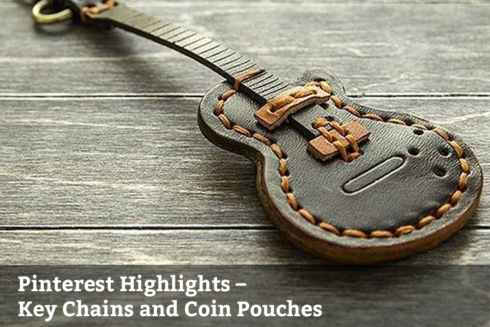 key chains and coin pouches