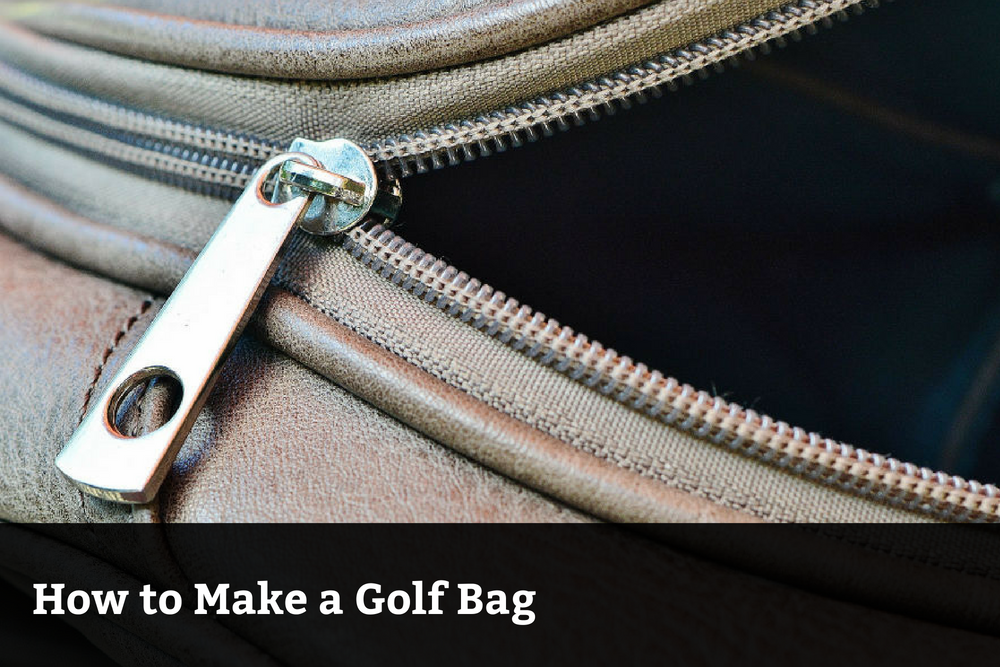 How to Make a Golf Bag